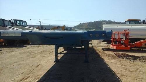plataforma plana 48 toneladas,52 pies de largo x2.58 mts anc