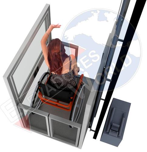 plataforma salvaescaleras, elevadores, casa, discapacitados