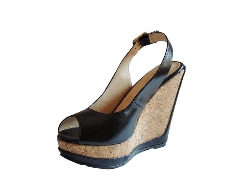 89be9af223 Plataforma Sandalia Andrea Negro Zapato Mujer Nuevo -   399.50 en ...
