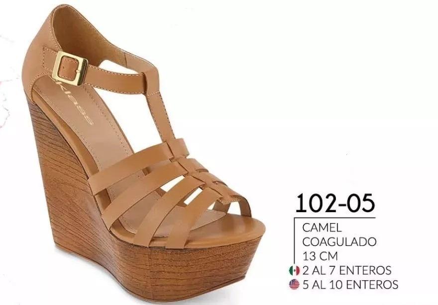 Sandalia 102 Plataforma Cklass Qvpguzlsmj Camel Cerrada Dama Pv19 Nm 05 c1lFKJT