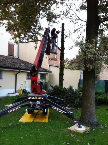plataforma spider s/oruga nueva 0km italiana alt 13.40mts