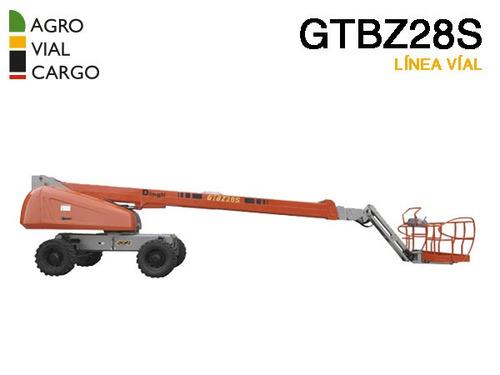plataforma telescópica dingli gtbz28s 28m valor por anticipo