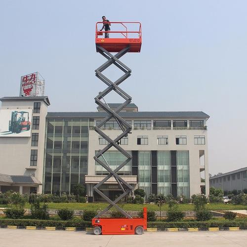 plataforma tijera electrica 12 metros nuevo niuli