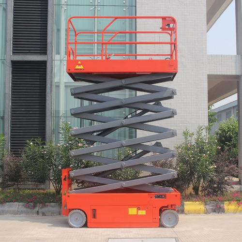 plataforma tijera electrica 14 metros nuevo niuli