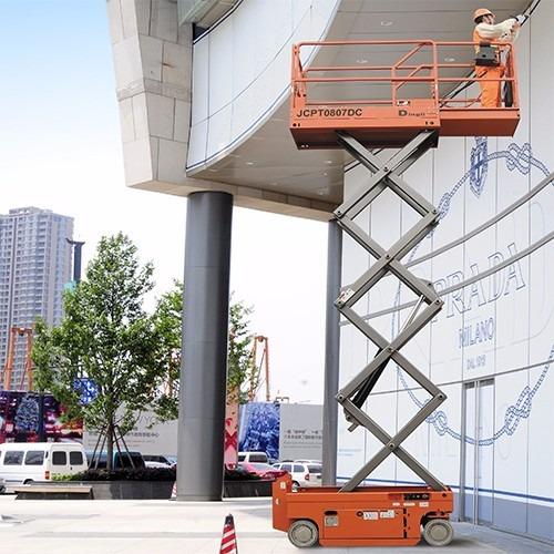 plataforma tijera elevación alzahombre 8 m consultar precio