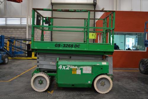 plataforma tijera genie 2006 1000 lb modelo gs-3268dc