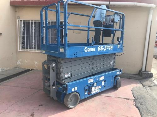 plataforma tijera genie gs3246 electrica gs-3246