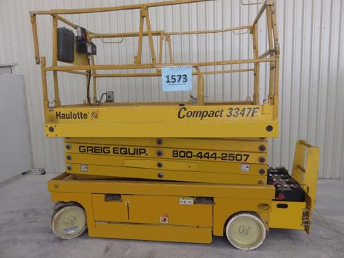 plataforma tijera haulotte electrico 660 lb modelo 33457e