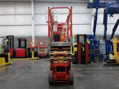plataforma tijera jlg 800 lb electrico modelo 2630es 2006