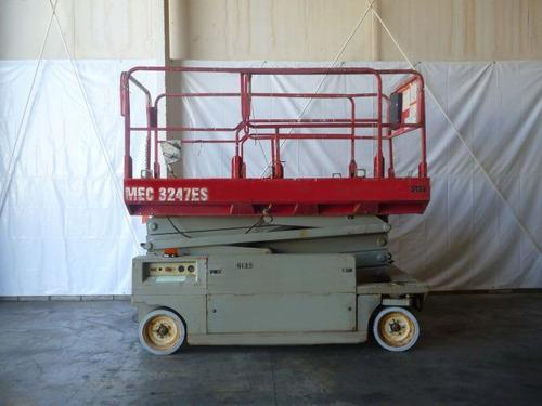 plataforma tijera mec electrica  700 lb modelo 3246es
