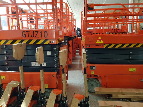 plataforma tipo tijera eléctrica gtjz 12 (14 m altura) 0 km