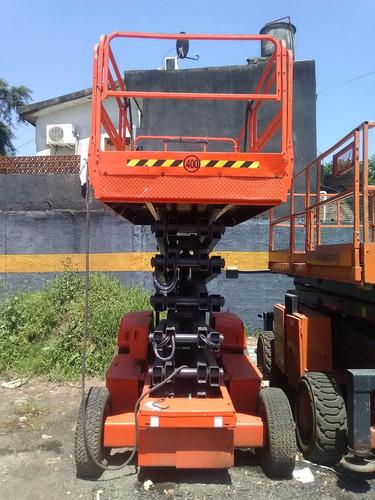 plataforma tipo tijera eléctrica jlg 3369e 4x2 alt 12.06m