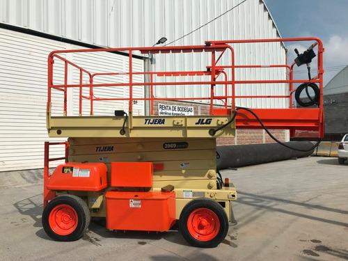 plataforma tipo tijera eléctrica jlg 3969 e