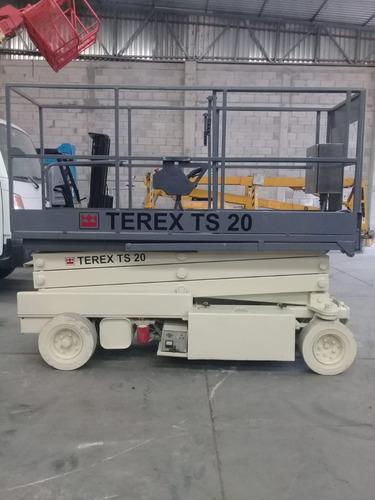 plataforma tipo tijera terex ts20