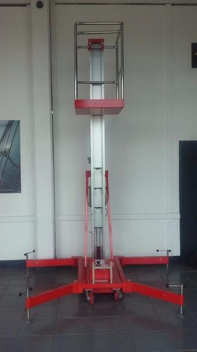 plataforma unipersonal nueva 0km altura 8mts. c/control