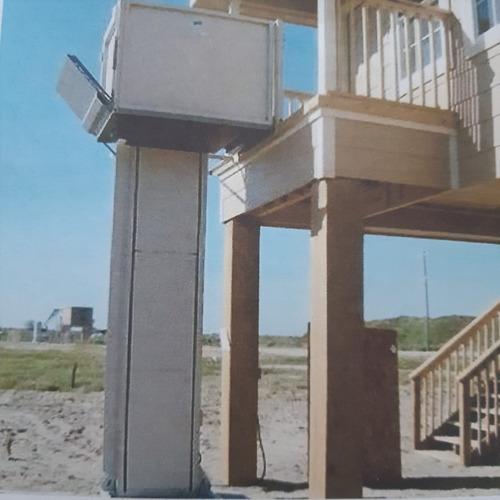 plataforma vertical para silla de ruedas