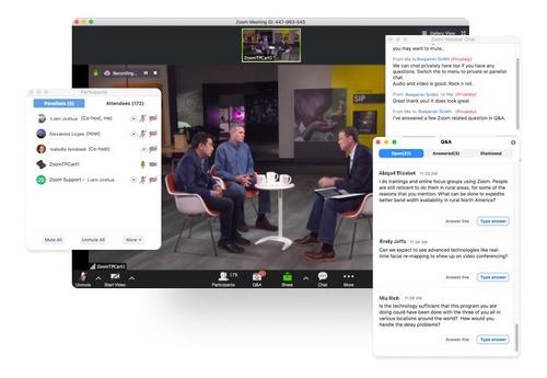 plataforma webinar zoom para tus eventos online