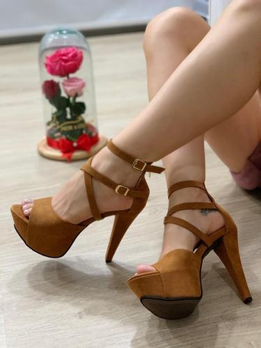 plataforma zapato sandalia