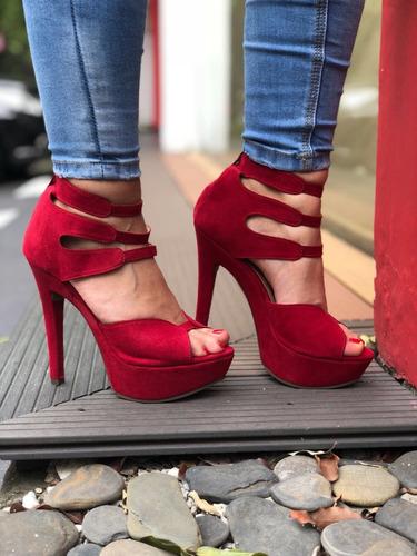 plataformas calzado colombiano para dama tallas 35-40