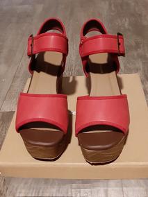 163a27f5f89 Outlet Daniel Cassin Sandalia - Sandalias de Mujer Rojo en Mercado ...