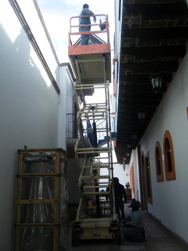 plataformas de elevación vertical tijera
