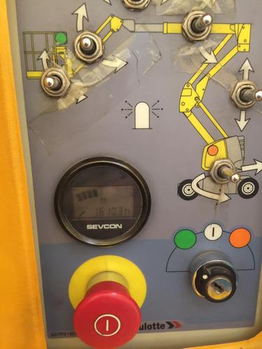 plataformas elevadoras maquinaria