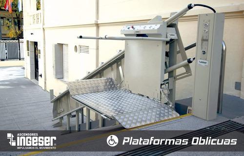 plataformas elevadoras y sillas residenciales ingeser