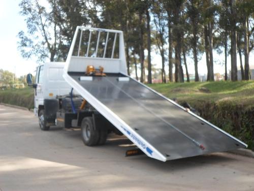plataformas hidráulicas para traslado de vehículos -camillas