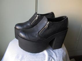 63d11873 Zapatos Con Poca Plataforma Zara - Zapatos de Mujer en Mercado Libre  Argentina