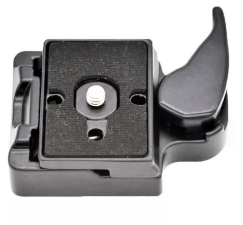 plate engate rápido manfrotto 323