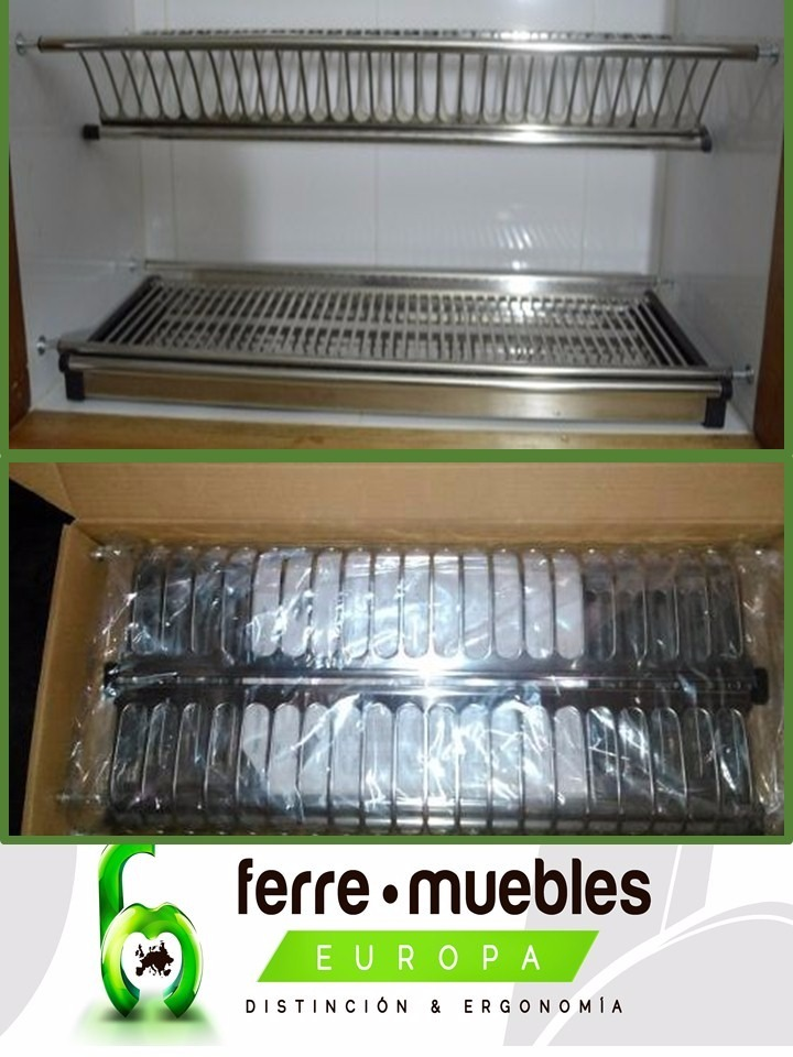 Platera Escurridora Para Mueble (1 Mtrs.) Accesorios Cocina - Bs ...