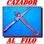 Cuchillo Cazador D Corona Mailhos Plateria Criolla
