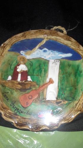 platico de barro artesanal de la pastora y barquisimeto