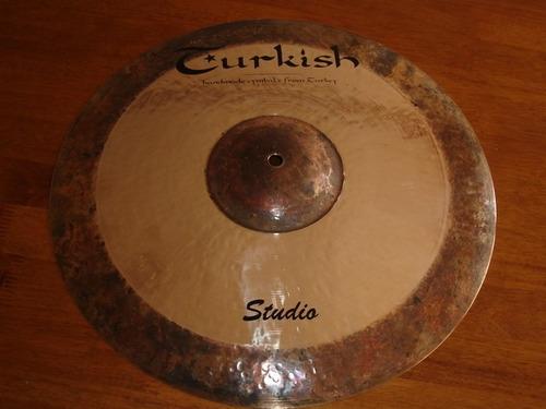 platillo crash turkish studio series 16 pulgadas