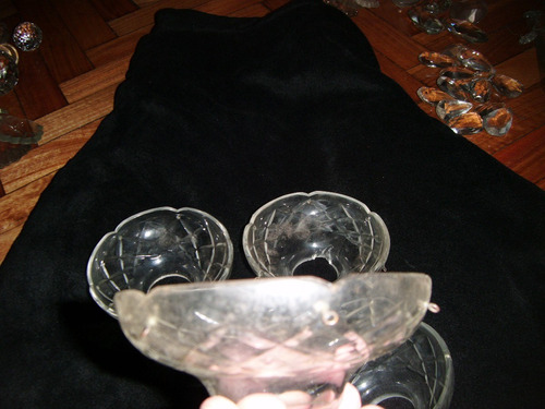 platillo de cristal checo