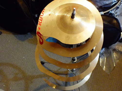 platillo efecto spiral crash arborea 14'' bateria