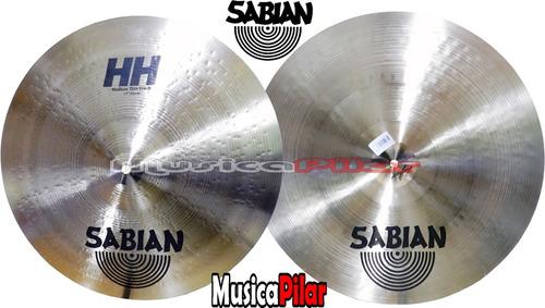 platillo sabian hh medium thin crash 17 musica pilar