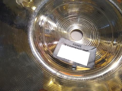 platillo zildjian k custom fast crash 16 pulgadas k0982 tm