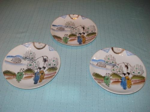 platillos para decoración , vitrina