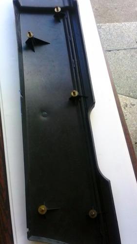 platina de guarda-fango trasera derecha chevette originales