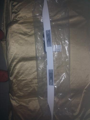 platina de maleta optra original con bombillos