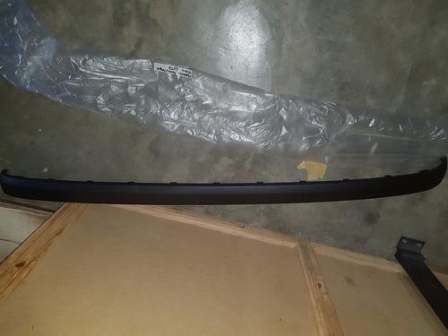 platina de parachoque trasero de getz original