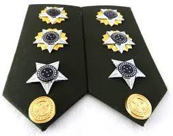 platina de tenente coronel do exército brasileiro (par)
