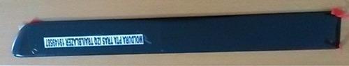 platina moldura tras izquierda trail blazer extended 03-08