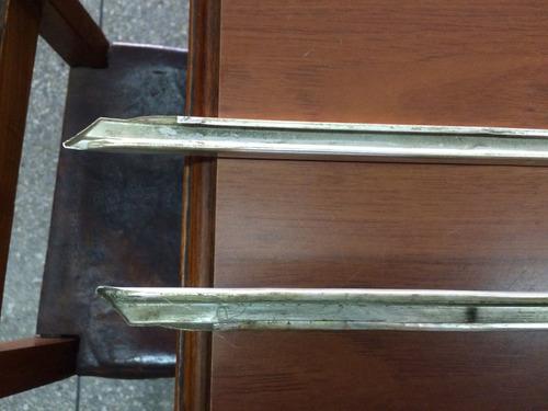 platina para la base trasera panel mustang 71-72-73