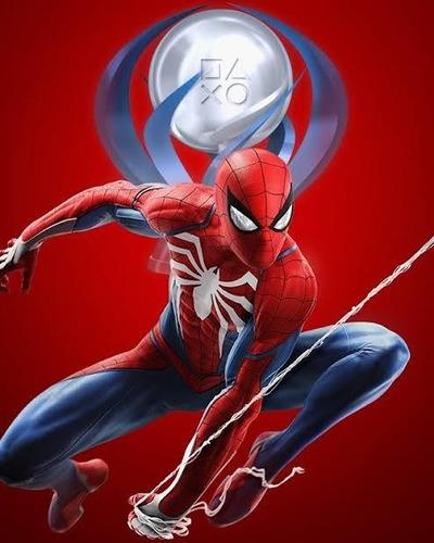 platina ps4 - marvel spiderman