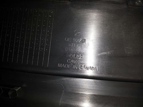platina superior de parachoque trasero jeep grand cherokee