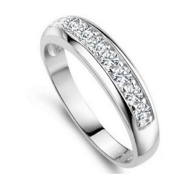 895ebc85eea4 platino zirconia anillos · anillos dama moda tipo compromiso platino  zirconia mayoreo
