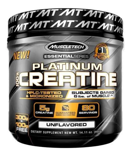 platinum 100% creatine de muscletech