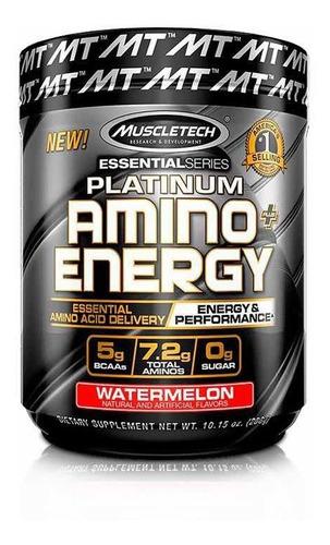 platinum amino + energy - muscletech 30 servicios